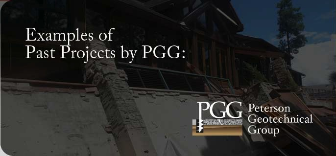 Examples of Past Projects by Peterson Geotechnical