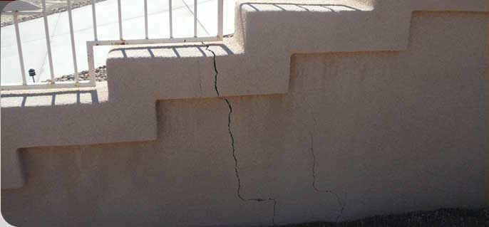 Settlement results in cracked privacy fences.